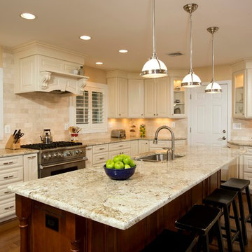 A Galley Kitchen Transformed to Meet Falls Church Homeowner's Vision