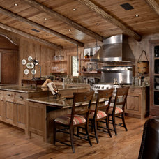 Rustic Kitchen by Zabala Erickson, LLC