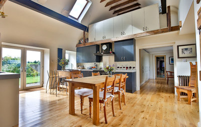 An Open-Plan Kitchen in a Converted Scottish Barn