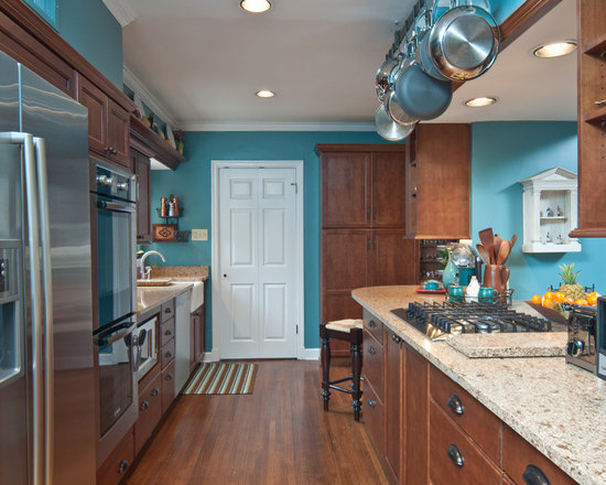 3 502 Chocolate Brown And Turquoise Kitchen Design Ideas