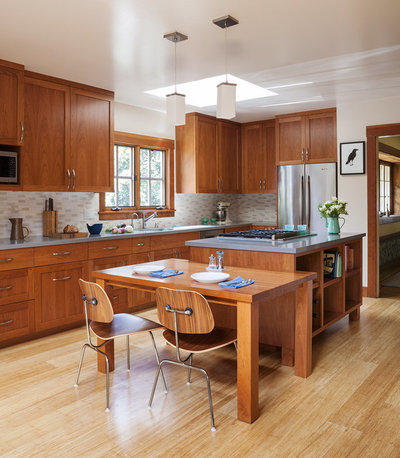 Craftsman Kitchen by Sustainable Home