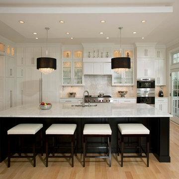A Kitchen in Black & White