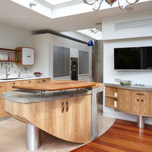 Kitchen of the Week: Curves in Unexpected Places