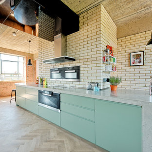 A Kitchen Inspired - Integrated Appliances