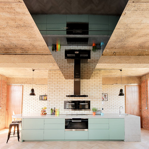 Beau Inspiration For A Modern Kitchen In Oxfordshire.