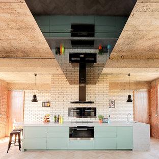 Immagine di una cucina contemporanea