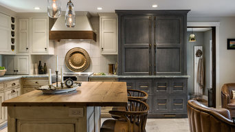 A Kitchen with Old World Charm