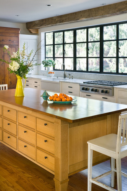 Transitional Kitchen by Orion Design, Inc.