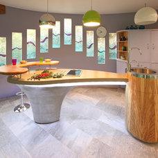 Contemporary Kitchen by Johnny Grey Studios