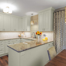 Traditional Kitchen by Alison Besikof Custom Designs