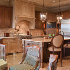 Transitional Kitchen by DESIGN GUILD HOMES