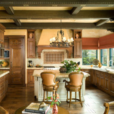 Mediterranean Kitchen by Design Studio West