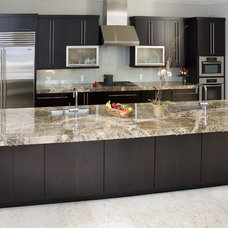 Modern Kitchen by Shoreline Cabinet Company