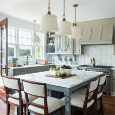 Beach Style Kitchen by Taste Design Inc