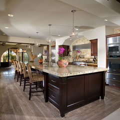 mediterranean kitchen by GRADY-O-GRADY Construction & Development, Inc.