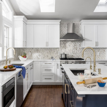 A not just white kitchen
