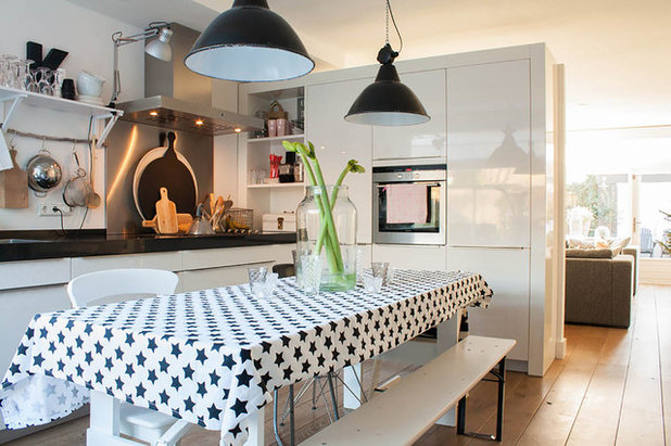 My Houzz: Soothing Neutrals Calm in an Airy Netherlands Home