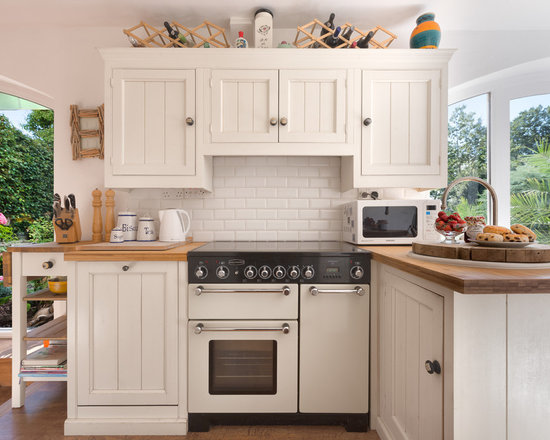 cream kitchen | houzz