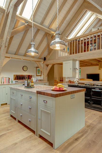 Farmhouse Kitchen by Colin Cadle Photography