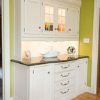 Pantry Mudroom Traditional Kitchen Chicago By
