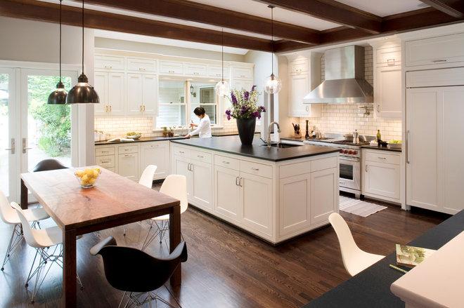 Contemporary Kitchen by Olson & Jones