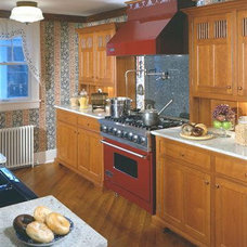 Traditional Kitchen by YesterTec Design Company