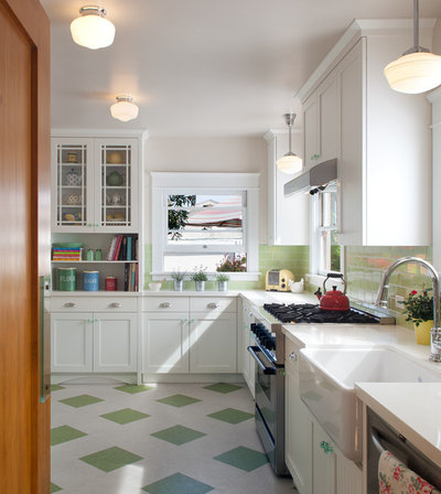 Traditional Kitchen by Design Studio West