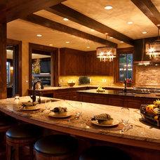 Traditional Kitchen by Cheryl Smith Associates
