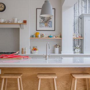 A Scandinavian Woodland Inspired Kitchen
