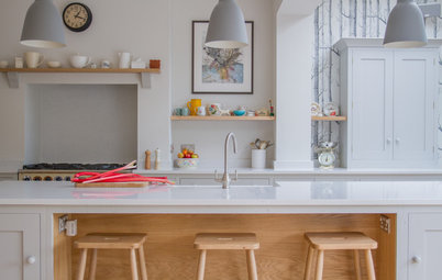 Kitchen Tour: Easy, Breezy, Shaker Style in a Kitchen Extension