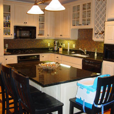 Eclectic Kitchen by Interior Remake by Elaine's Design