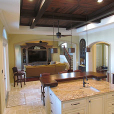 Mediterranean Kitchen by Design Collaborative