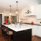 Elmwood Reclaimed Timber Coastal Collage Hardwood Flooring Farmhouse Kitchen Kansas City