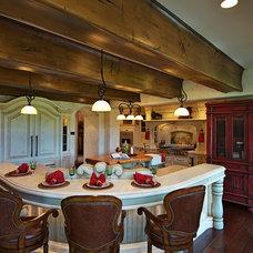 Mediterranean Kitchen by Dan Waibel Designer Builder