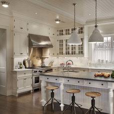 Traditional Kitchen by John B. Murray Architect