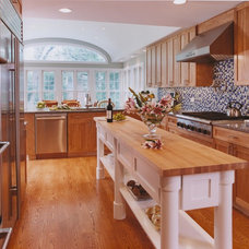 Eclectic Kitchen by Bud Dietrich, AIA