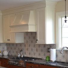 Transitional Kitchen by Designing Richmond