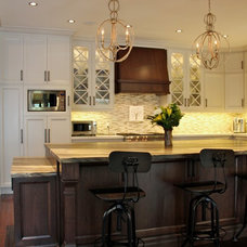 Traditional Kitchen by Carmel Kitchens & Custom Cabinetry