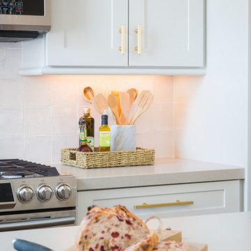 A Touch of Blush - Kitchen Renovation