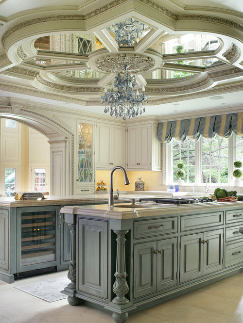 This Is An Example Of A Large Traditional U Shaped Kitchen Diner In New