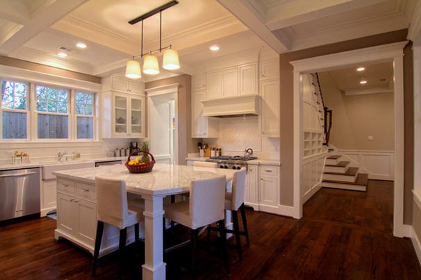 Traditional Kitchen by Parker Stuckey Residential Design
