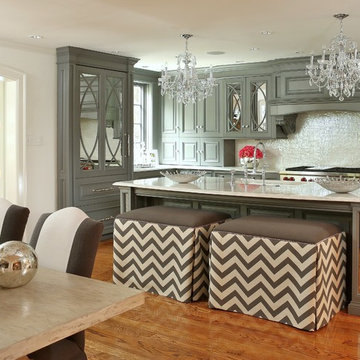 A Traditional Kitchen Remodel & New Family Room
