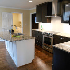 Transitional Kitchen by Counter Dimensions