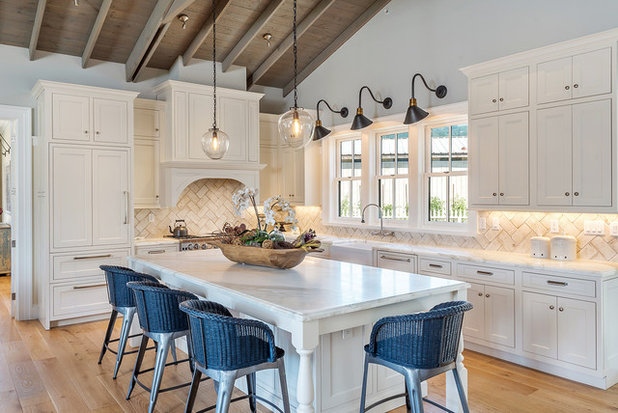 Farmhouse Kitchen by Tama Bell Design