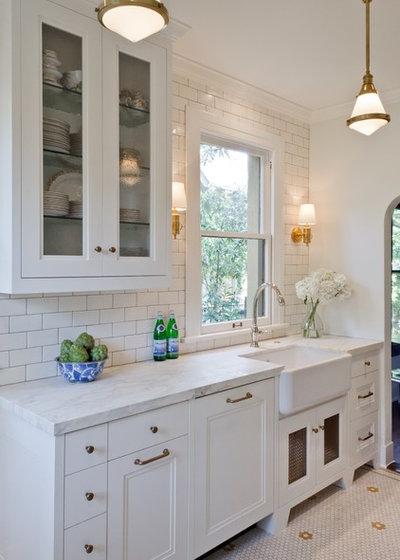 American Traditional Kitchen by BRADSHAW DESIGNS LLC