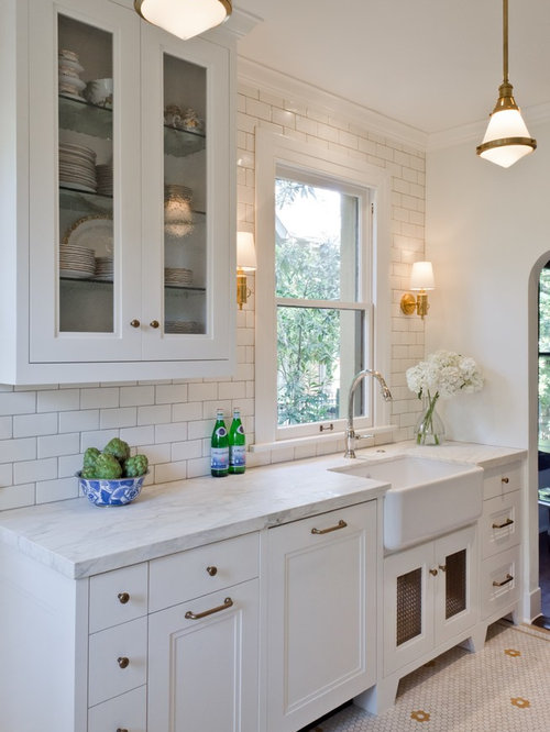 25 best kitchen ideas remodeling photos houzz for Kitchen ideas no island