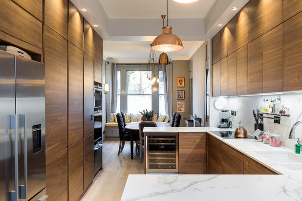 Contemporary Kitchen by Orchestrate