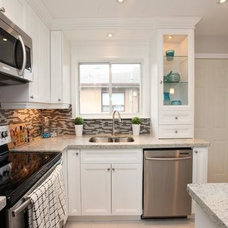Contemporary Kitchen by Sold By Style Home Staging & Redesign