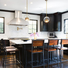 Transitional Kitchen by Erika Bierman Photography