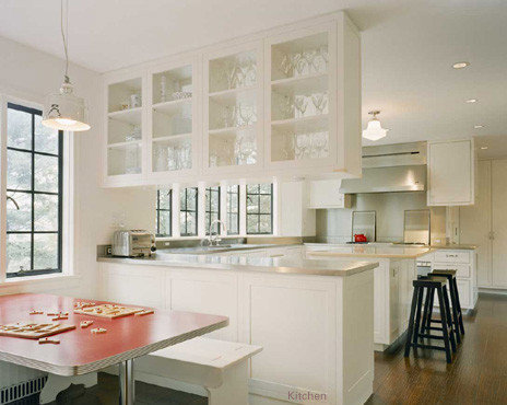 Hanging cabinets home design ideas pictures remodel and for Hanging kitchen cabinets